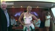 Lingerie Fashion Show - Nichole de Carle @ Cannes Film Festival 2011