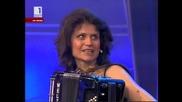 Галина Христова - акордеон, преподавател по музика в град Враца - на гости В неделя с ... на Бнт
