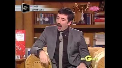 Indira Radic i Stanko - Intervju (2.deo) - Ami G Show - (TV Pink 2012)