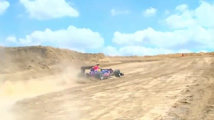Red Bull Formula1 !!!off road!!!(2011)(hdvideo)