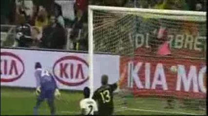 Гана - Германия0:1 (гол на Йозил)