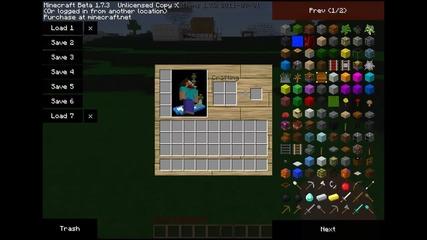 minecraft как се работи със too many items урок еп 10