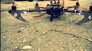 Уникално! Quadcopter направен от български ученици!!!