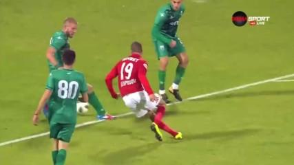 Голът на Кирил Десподов за ЦСКА срещу Витоша