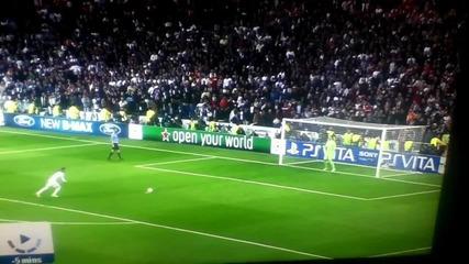 Sergio Ramos Penalty Miss vs Fc Bayern Munchen 25-04-2012