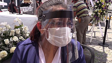 Mexico: Puebla holds repatriation ceremony as remains of Mexican coronavirus victims returned from US