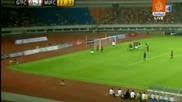 Бербатов с гол и три асистенции при победата на Ман. Юнайтед с 8 на 2 над Гуанджу