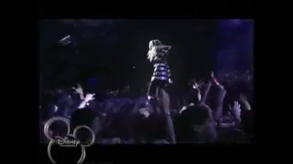 hannah montana - rockstar - Official concert music video