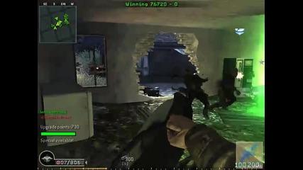 Cod 4 Zombie - геймплей