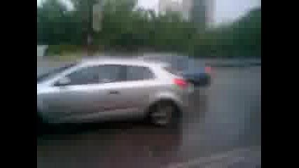 Дъжда в София