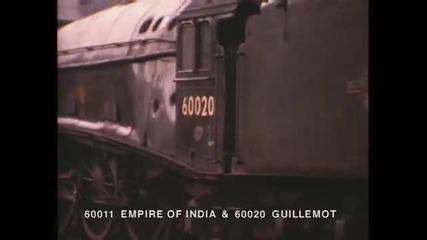 Най - бързият парен локомотив в Света