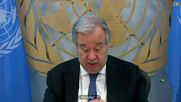 UN: 'Time is not on our side in Libya' - Sec-Gen Guterres