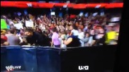 Ето как Сет Ролинс се преби в Raw (27.01.14)