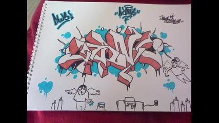Моите графити-graffiti Blackbook 2