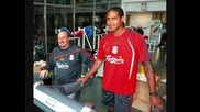 First pic of glen johnson at Liverpool Fc