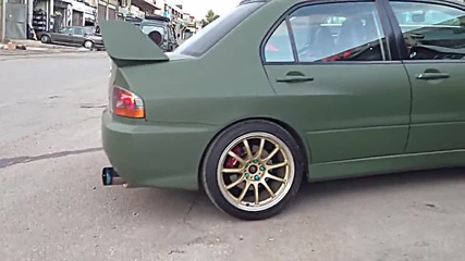 Twin Turbo + Nos = Best Launch Ever // Mitsubishi Evo Ix //