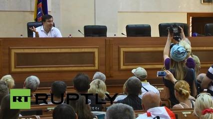 "Ukraine: Odessa killings ""a tragedy,"" but that ""heroism"" saved the city - Saakashvili"
