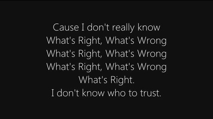 +превод Khalil Underwood - What's Right Wrong