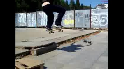 Скейтборд - Switch Ollie
