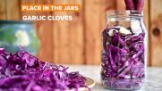 Fall Pickling: Cabbage