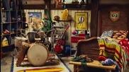 Зайчето разцепи барабаните