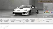 Виртуален Тунинг на Toyota Celica 2002