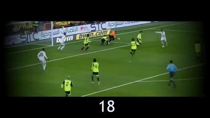 Топ 50 гола на Кристиано Роналдо за Реал Мадрид