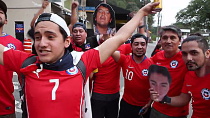 Brazil: Chile fans sing hearts out before Japan match
