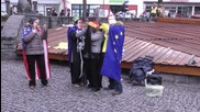 Germany: 'Poroshenko' hits the bottle in anti-NATO play outside Munich conference
