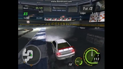 Nfsu2 First Online Race Win!