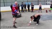 Руснак показва хватки при самоотбрана от нападение, които могат да ви спасят живота !
