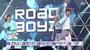 18.0117-1 Road Boyz - Be my love, Sbs Inkigayo E848 (170116)