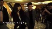 Hyuna's go to Wonder Girl Sunye's Wedding.
