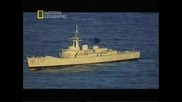 Страхотни кадри! Торпедо улучва кораб, гледайте какво се случва!