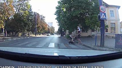 Опасно шофиране в Пазарджик