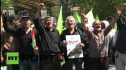 Iran: Ahmadinejad joins millions for Al-Quds Day celebrations in Tehran