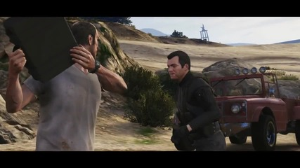 Grand Theft Auto V- The Official Trailer World Premier