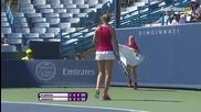 Cincinnati 2015 Karolina Pliskova vs Jelena Jankovic Set-3