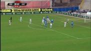 Първо полувреме на Левски - Хасково (4:0 ПП)