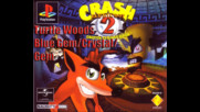 Crash Bandicoot 2 - Turtle Woods - Crystal- Gem- Blue Gem