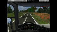 German Truck Simulator Scania R sound mod