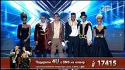4U - X Factor Live (28.10.2014)