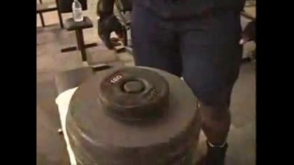 Ronnie Coleman - Back Workout He is the Best Ever