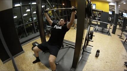 Boom Team - Тренировка за рамо с Илиан Иванов !