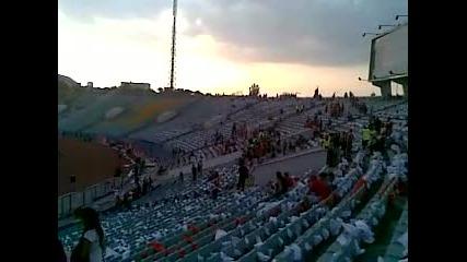v stadiona predi macha cska - levski