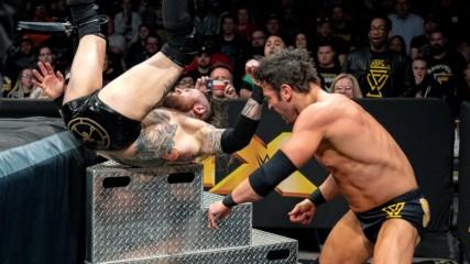 Алистър Блек срещу Родерик Стронг: WWE 20.2.2019