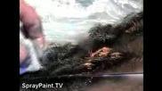 Океански вълни - спрей