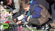 France: Violinist plays for Paris attacks victims at Republic square