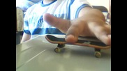 How to Creat Ollie on Fingerboard