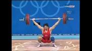 Taner Sagir Snatch 172.5kg 2004 Olimpiiskoto